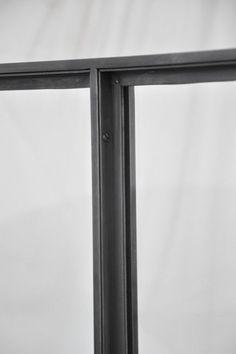 Steel Frame Doors, Steel Doors And Windows, Metal Windows, Glass Balustrade, Glass Railing, Staircase Handrail, House Extension Design, Iron Doors, Window Frames