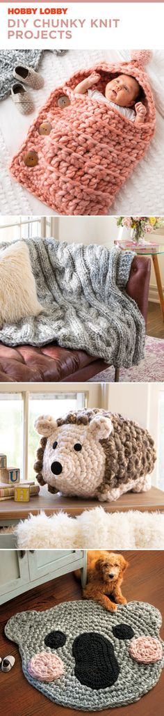 DIY Chunky Knit Projects