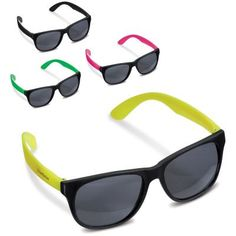 Image of Promotional Sunglasses Neon Colours Printed