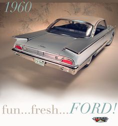 1960 Ford Starliner , wish my dad still had this bad boy !!
