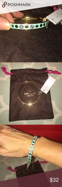 Kate spade bracelet lower on Ⓜ️ Brand new, retails for $48. Comes with dust bag. kate spade Accessories