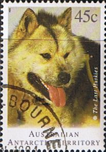 Australian Antarctic Territory 1994 Huskies Fine Used SG 104 Scott L90 Other Australian Antarctic territory Stamps HERE