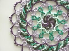 Celtic Needle Tatting Patterns   Would be cute in just 2 colors
