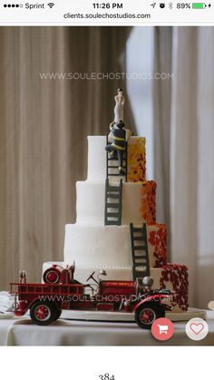 fireman wedding cake ideas 1000 ideas about firefighter wedding cakes on 14277