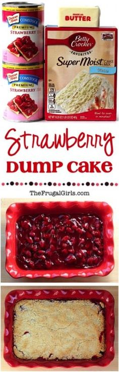 Enjoy some strawberry bliss this week when you make yourself this Strawberry Cheesecake Dump Cake! Rich and tempting, this Strawberry Cheesecake Dump Cake is simple to make and oh so yummy. Bring on