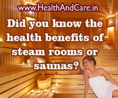 health benefits of a sauna