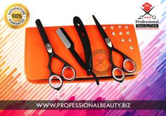 Styling Trimming Barber Scissors Professional High Quality Set Kit  Material:  J2 Japanese Stainless Steel. Brand: Professional Beauty  Inbox us for wholesale pricing info and more details.  We are Wholesale Manufacturers and exporters of beauty care instruments,  Shears, Straight Razors, Safety Razors, Manicure Pedicure  and all other beauty tools & Kits.. With extensive experience from our highly skilled professionals, we produce high quality products at the most competitive prices