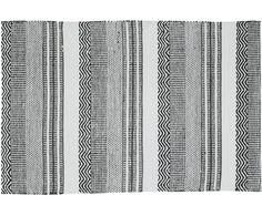 Gehen Sie mit dem gestreiften Teppich Inka in Schwarz und Weiß wie auf Wolken. Entdecken Sie weitere tolle Teppiche von HOUSE DOCTOR auf >> WestwingNow.