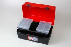 Tool Box with Liftout Tray Material - Co-Polymer (Handle & Clips ABS) Hospital grade material Bacterial & Chemical free : Size - 465mmW x 300mmD x 254mmH Code - 1H-126