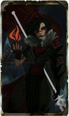 Female Hawke Tarot Card - Dragon age 2: