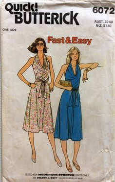OSFA uncut vintage dress sewing pattern from my Etsy shop https://www.etsy.com/au/listing/289046053/1970s-uncut-vintage-sewing-pattern