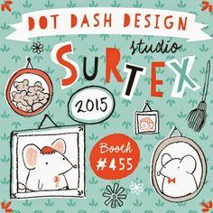 print & pattern: SURTEX 2015 - dot dash design studio