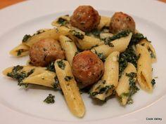 cookvalley - tanker om mad: Polpette med grønkål og pasta