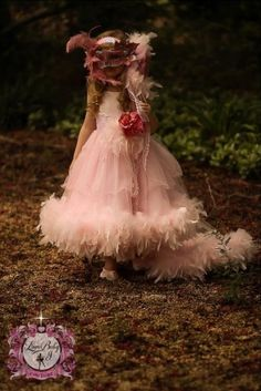 Capo d'Opera... A Decadent Ostrich Feather Tutu dress With Faux Fur ...