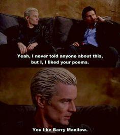 Spike & Angel on Spike's poems.