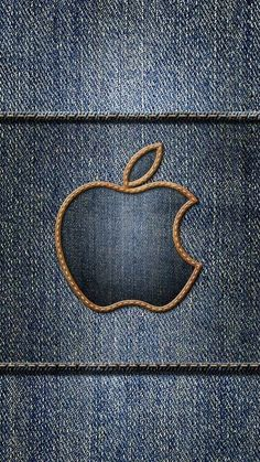 Denim Wallpaper, Back Wallpaper, Lock Screen Wallpaper, Mobile Wallpaper, Iphone Logo, Apple Logo Wallpaper Iphone, Android Phone Wallpaper, Iphone Wallpapers, Wallpaper Backgrounds