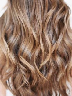 Light brown hair - maybe someday.. #hair #hairstyle #waves