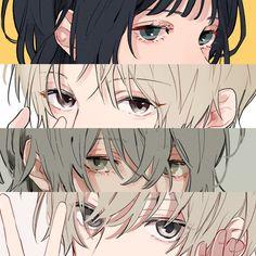 Manga Eyes, Anime Eyes, Anime Drawings Sketches, Art Drawings, Anime Art Girl, Manga Art, Art Inspiration Drawing, Comic Drawing, Foto Art