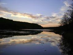 Sunset at Greenleaf State Park