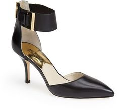 MICHAEL Michael Kors 'Guiliana' Pointy Toe d'Orsay Pump (Women) on shopstyle.com