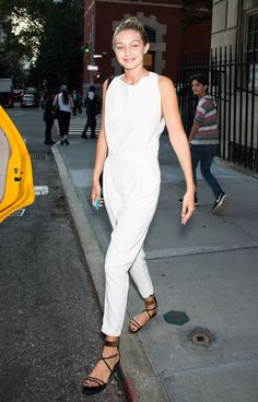 Gigi Hadid shows off her cool Summer street style