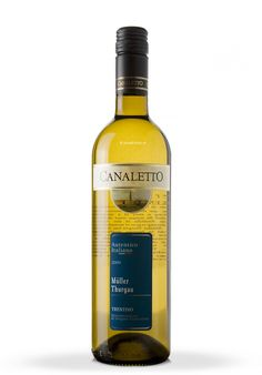 Vin Canaletto, DOC Trentino, Muller Thurgau 2009 (0.75L) - SmartDrinks.ro