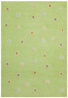 Carousel Green Dots Area Rug