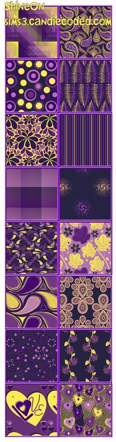 ShineOn Pattern Set xoxo