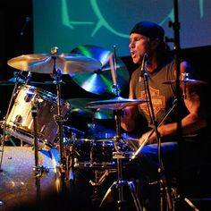 "Chad Smith - drummer for Red Hot Chili Peppers since they hit their stride with ""Mother's Milk."" Also played with part-time supergroup, Chickenfoot."