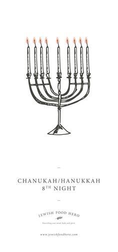 8 th Night of Chanukah/Hanukkah