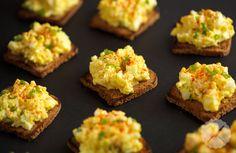 Deviled Egg Salad on Rye // AsAVerb.com
