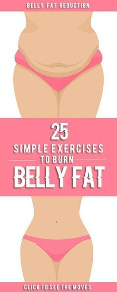 25 Best Exercises To Reduce Belly Fat