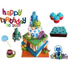 """Happy Party Gistera Cake Decorator"""