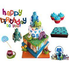 """Happy Party Gistera Cake Decorator"""