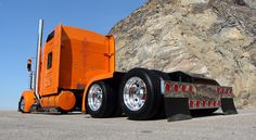"Kenworth Rollin' R Enterprises ""Backyard Build"" Big Rig Trucks, Semi Trucks, Cool Trucks, Freightliner Trucks, Peterbilt 379, Custom Big Rigs, Custom Trucks, Volvo, Heavy Construction Equipment"