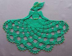 Ravelry: Irish Crinoline Girl Doily (Item # 0487) pattern by Cylinda Mathews
