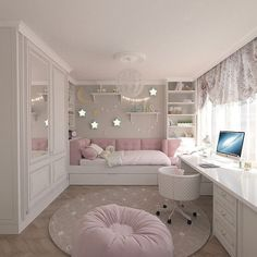 Teenage Girls Bedroom Ideas is part of Dream rooms - Every young girl dreams of a uniquely personal space to call her own, yet nailing down a durable search for a teenage girl's bedroom can be a particularly troublesome undertaking Cute Bedroom Ideas, Cute Room Decor, Awesome Bedrooms, Bedroom Themes, Cool Rooms, Trendy Bedroom, Girls Bed Room Ideas, Modern Bedroom, Beautiful Bedrooms