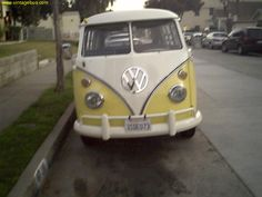 Will travel around in a vintage vw buses