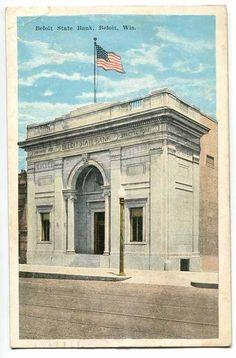 Old Beloit State Bank on State Street in Beloit, WI.