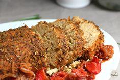 Rôti de haricots blancs pour des fêtes de Pâques vegan! - La Fée Stéphanie Meatloaf, Html, Salads, Gram Flour, Tomato Paste, Artichoke, Cherry Tomatoes, White Beans