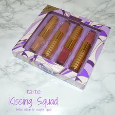 Tarte Kissing Squad