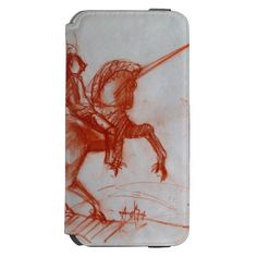 FLORENTINE  KNIGHT ON HORSEBACK INCIPIO WATSON™ iPhone 6 WALLET CASE