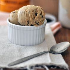 Cafe Du Monde Coffee Ice Cream with Chocolate 'Freckles' || Turntable Kitchen