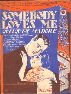 """""""Somebody Loves Me"""" Cover-art R.de Valerio"""