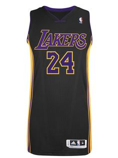 3448ba3e613f Los Angeles Lakers Authentic Kobe Bryant Hollywood Nights Jersey