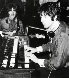 George Harrison & Paul McCartney | via Beatle Love ~ Cityhaüs Design