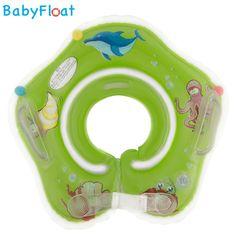Baby Float Zwemring - Zwemband voor om de nek - Groen