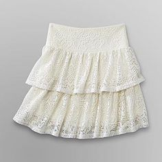 Dream Out Loud by Selena Gomez- -Junior's Skirt - Crochet Lace