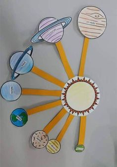 50 Marvelous DIY Solar System Crafts, Activities and Decorations with an 'Oomph' Factor Information Technology News, Technology News Today, Science And Technology News, Energy Technology, Technology Articles, Solar System Activities, Solar System Crafts, Science Activities, Science Projects