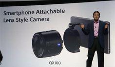 Sony hace oficial sus QX Smart Lens, los mejores amigos de tu smartphone on http://conectica.com.mx